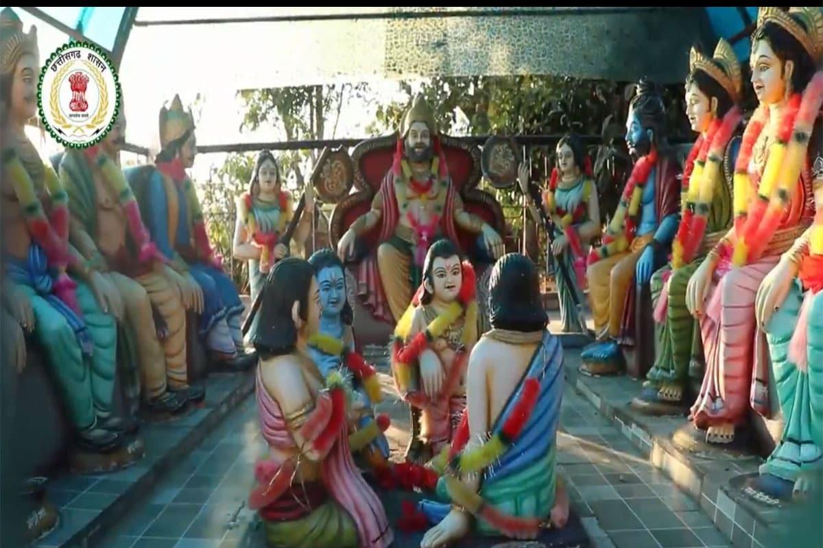 कहा जाता है कि, जब इस तालाब के जल का उपयोग लोग गलत कामों के लिए करने लगे तो माता सुमित्रा और कैकयी रूठकर दूसरी जगह चली गईं. लेकिन, माता कौशल्या आज भी यहां विराजमान हैं. कमाल की बात ये है कि इस मंदिर का पहले किसी को पता नहीं था. एक भैंस की वजह से इस जगह की खोज हुई थी.भूपेश बघेल सरकार राम वनगमन पथ के 9 पड़ावों (सीतामढ़ी-हरचौका, रामगढ़, शिवरीनारायण, तुरतुरिया, चंद्रखुरी, राजिम, सिहावा (सप्त ऋषि आश्रम) को विकसित कर रही है.