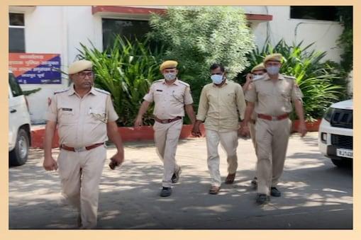 आरोपी राजूलाल मीणा उगावास ग्राम पंचायत सरपंच का देवर है और आपराधिक प्रवृत्ति का है...