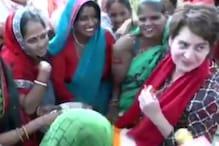 Video: बाराबंकी में प्रियंका का अंदाज- भाई ने कहा है मोटी हो रही हो कम खाओ