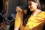 वाइन का गिलास लिए फ्लाइट में यूं दिखीं धोनी की Ex गर्लफ्रेंड Raai Laxmi तो एक बोला- 'माही भाई से मिल लेना'