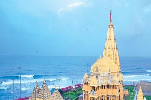श्री सोमनाथ महादेव मंदिर, प्रथम ज्योतिर्लिंग - गुजरात (सौराष्ट्र) (Image: twitter)