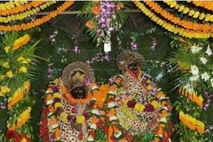 नवरात्र में थाइलैंड से मंगवाए गए 900 किलो फूलों से सजा आरा का आरण्य देवी मंदिर