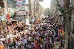 दिल्ली के सदर बाजार की तस्वीरें, बिना मास्क की भारी भीड़ पड़ सकती है कोरोना काल में भारी