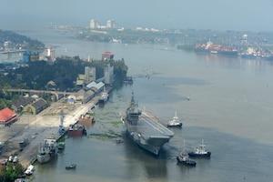 भारत के पहले विमानवाहक विक्रांत का दूसरा समुद्री परीक्षण, 1971 युद्ध से है कनेक्शन, देखें PICS