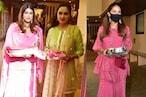 Karva Chauth: मीरा राजपूर से पद्मिनी कोल्हापुरे तक, अनिल कपूर के घर लगने लगा सितारों का जमावड़ा