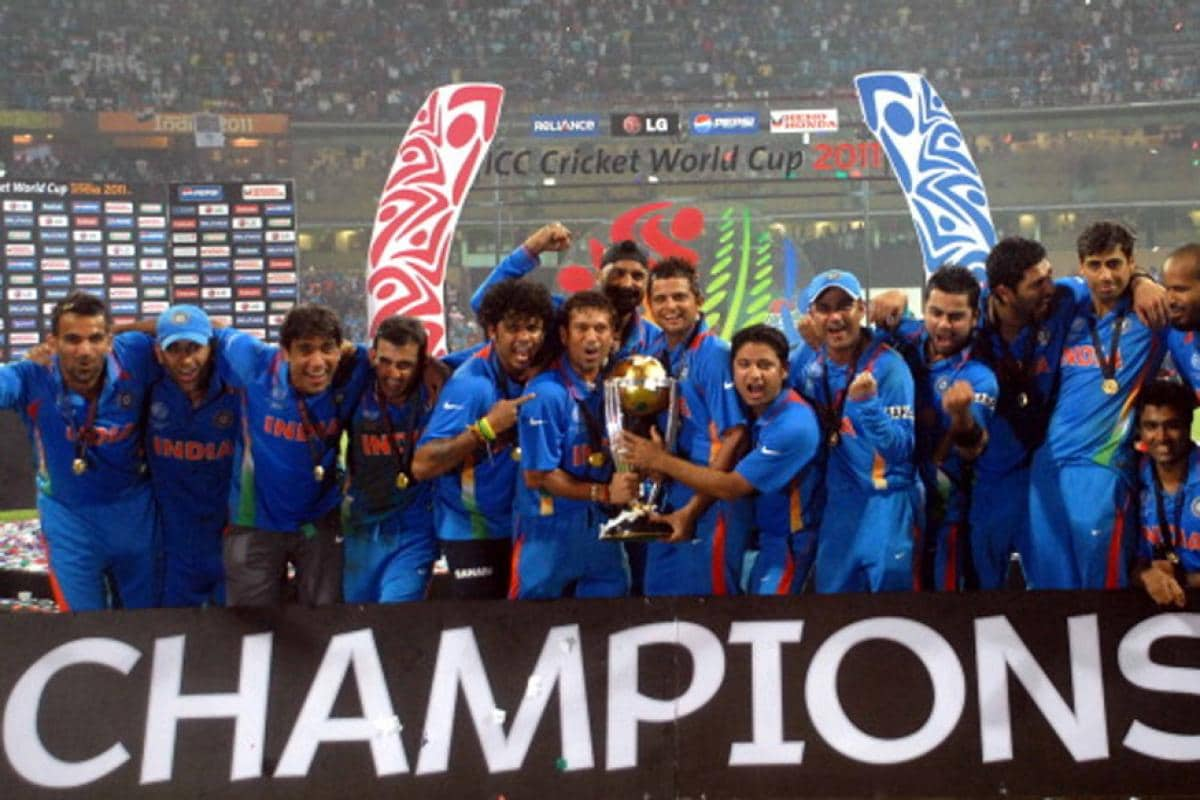 When Ms Dhoni Six Sealed India S Second World Cup Title