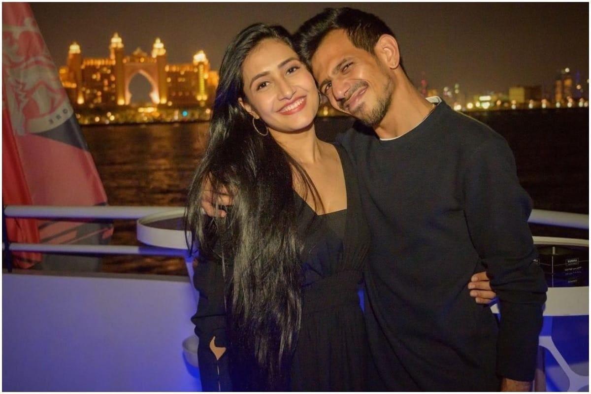 Yuzvendra Chahal Posts Pic With Dhanashree Verma; Calls Her His 'Home And  Adventure'