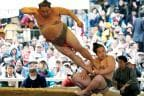 Spring Festival Revives Japan's Ancient Sport Sumo Wrestling