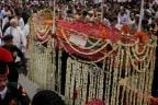 Thousands Throng Atal Bihari Vajpayee's Funeral Procession