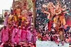 Ganesh Visarjan 2018: Devotees Bid Adieu to Ganesha Idol on Anant Chaturdashi