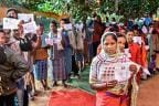Chhattisgarh Polls: Amid Maoist Attacks, People Queue Up To Cast Their Vote