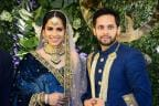 Saina Nehwal and Parupalli Kashyap's Wedding Reception