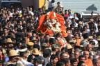 Shivakumara Swamiji's Last Rites: Devotees Pay Homage to 'Walking God'
