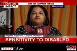 CJ fights against insensitivity towards differently-abled by airlines