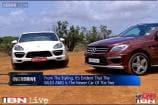 Overdrive: Mercedes ML63 AMG vs Porsche Cayenne Turbo