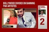 Bollywood Remains Divided Over the Ban on Pakistani Artistes in India