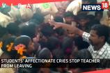Watch: Students' Affectionate Cries Stop Teacher from Leaving