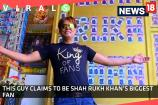 This Guy Claims to be Shah Rukh Khan's Biggest Fan and Here's the Proof!