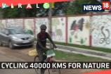 Watch: Cycling 40000 kms for Nature