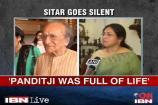 Family remembers Pandit Ravi Shankar as a man full of life