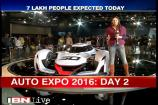 Stars make a beeline at the Auto Expo 2016 on Day 2