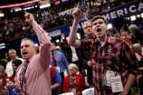 Republican National Convention Gets Off to a Stormy Start