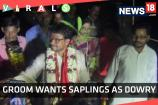 Watch: Groom Wants Saplings As Dowry