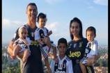 Cristiano Ronaldo Celebrates New Deal With Family