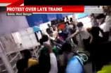 Protest Over Late Trains in West Bengal