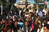 BJP Workers Protest Against Kamal Nath For Not Singing Vande Matarm At MP Secretariat