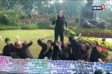 TMC MPs Protest Against Citizenship Amendment Bill By Putting PM Modi's Mask