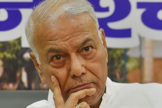 File image of Yashwant Sinha.