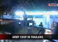 Thailand army launches coup