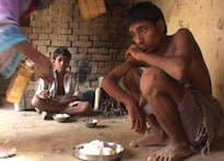 Starved kids work, but still hungry