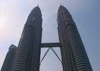 Get atop the world's tallest twin towers