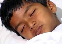 Kid road accident victim needs help