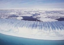 Ice melting seeding up in Antarctica