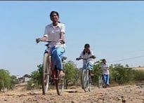 NGO sets 'help girl' cycle in motion