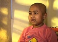 7-yr-old battles cancer for 2nd time
