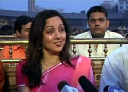 Hema lets down fans for UP polls