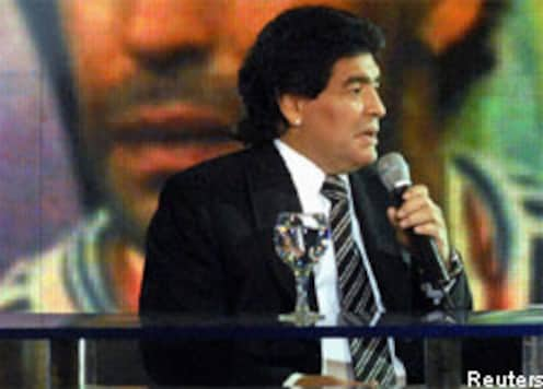 Maradona vows to stay fit, healthy