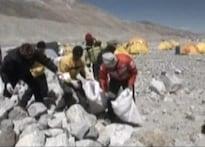 Mt Everest or Mt garbage? Ask Noguchi