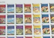 Harry Potter stamps up for grabs