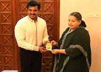 Sarath star rises in Tamil Nadu politics