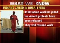 4,100 arrested Indian workers in Dubai let off