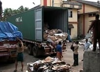 To Kochi with love from US: rotten food and garbage