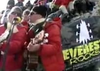 A rock concert that rocked Everest