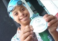 Pune teenager swims past special obstacles