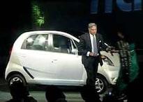 First Look: Ratan Tata unveils Nano