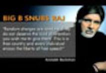 Big B snubs Raj Thackeray a day before MNS rally